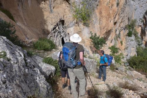 Sentiero per Gorropu da Silana
