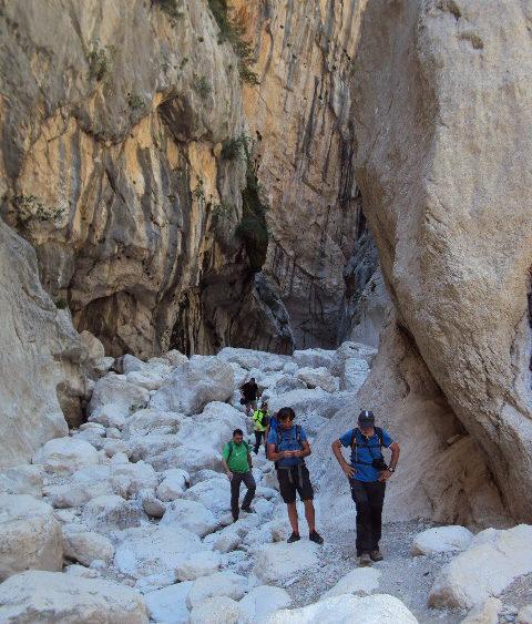 Escursione alla gola di Gorropu
